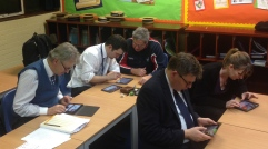 Teachers get to grips with their iPads
